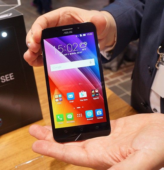 IFA 2015. The presentation of the company Asus, smartphones and tablets