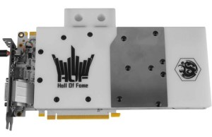 KFA2 introduced the GeForce GTX 980 Ti HOF Watercooled for 899 euros