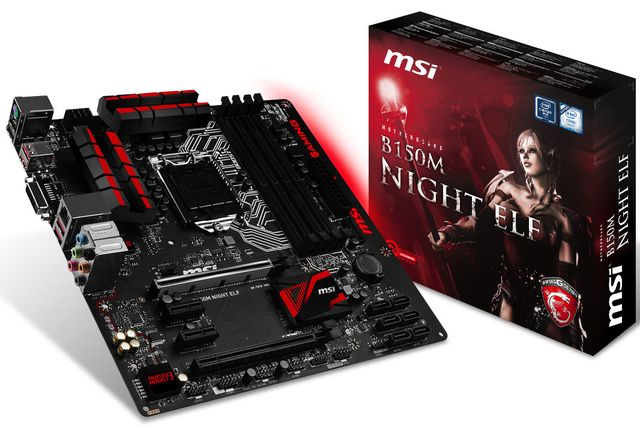 MSI has announced a gaming motherboard B150M Night Elf and Z170I Gaming Pro AC
