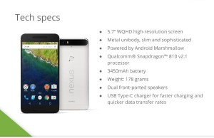 Nexus 5X and Nexus 6P: return to the old prices and the possible date of availability
