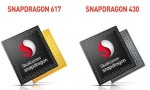 Qualcomm expands family of Snapdragon mobile processors models 430 and 617
