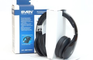 Review SVEN AP-B570MV - stylish wireless headset