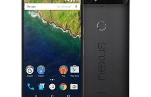 Smartphones Google Nexus 5X and Nexus 6P