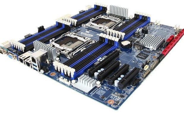 Gigabyte has announced a two-socket motherboard MD80-TM1 24 slots DIMM DDR4