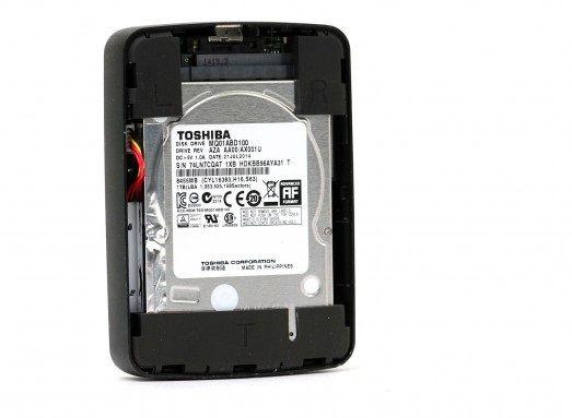 Review Drive Toshiba Canvio AeroCast
