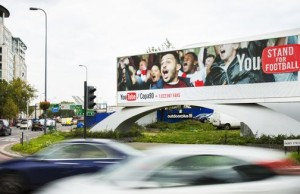 Google has put smart billboards on the streets of London